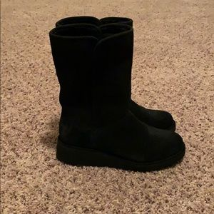 """NEW """"Amie"""" black UGG boots"""